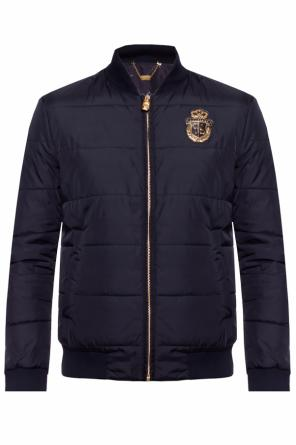 Quilted bomber jacket od Billionaire