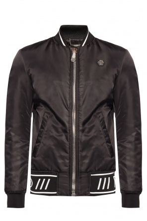 Branded bomber jacket od Philipp Plein