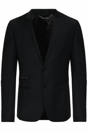 Blazer with logo od Philipp Plein