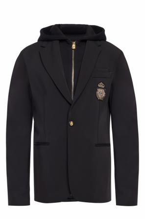 Hooded blazer od Billionaire