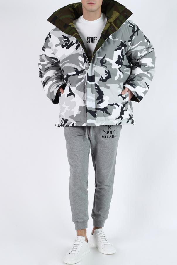 Reversible oversize camo jacket od Vetements