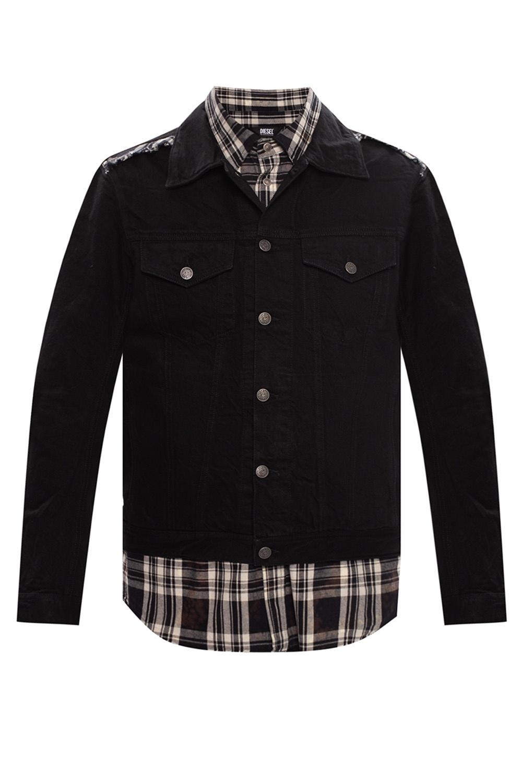 Diesel Denim jacket with detachable vest