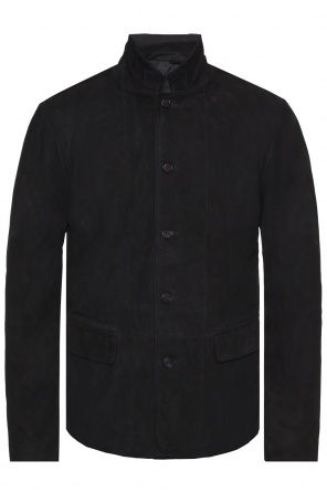 'nolan' jacket with collar od AllSaints