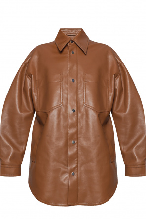 Jacket from vegan leather od Nanushka