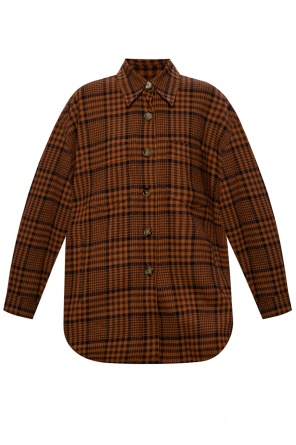 Checked jacket od Nanushka