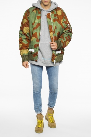 Camo bomber jacket od Off White