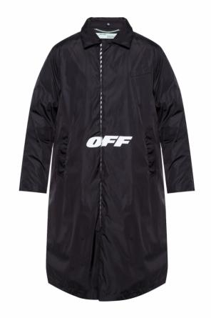 Logo-printed coat od Off White
