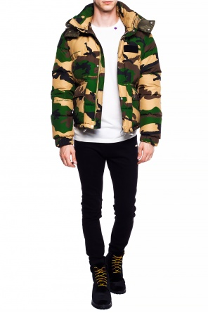 Quilted  camo jacket od Off White