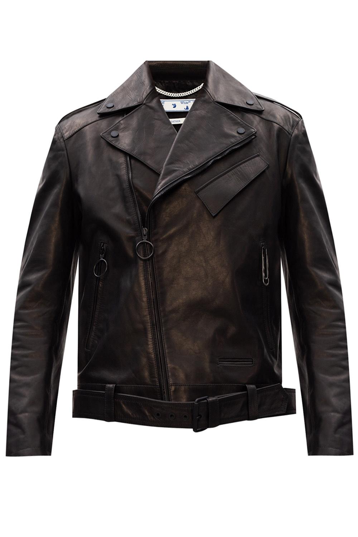 Off-White Leather jacket