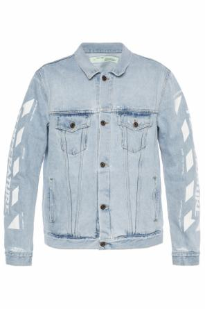 Printed denim jacket od Off White
