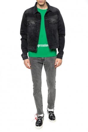 7ea2532691c Raw-trimmed denim jacket od Off White ...