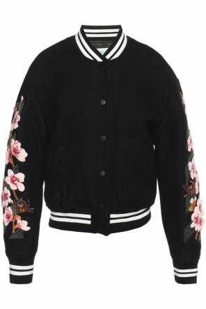 Floral applique jacket od Off White