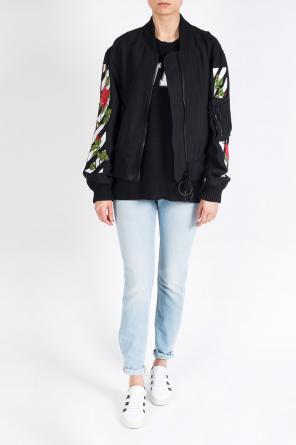 Embroidered bomber jacket od Off White