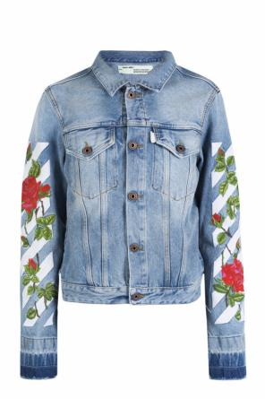 Embroidered denim jacket od Off White