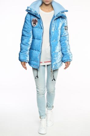 Velvet down jacket od Off White