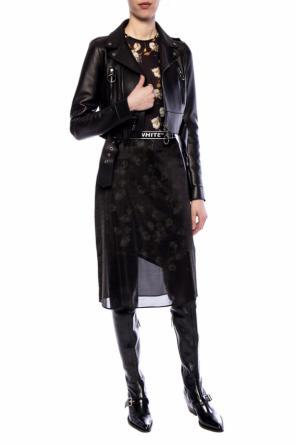 93e78662e813 Biker jacket with logo od Off White ...