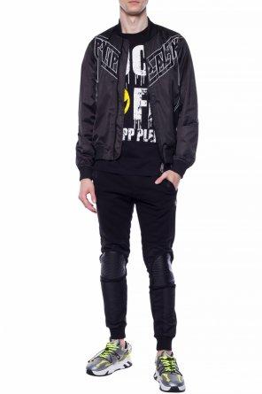 Bomber jacket with logo od Philipp Plein