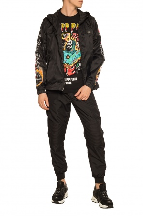 Jacket with logo od Philipp Plein
