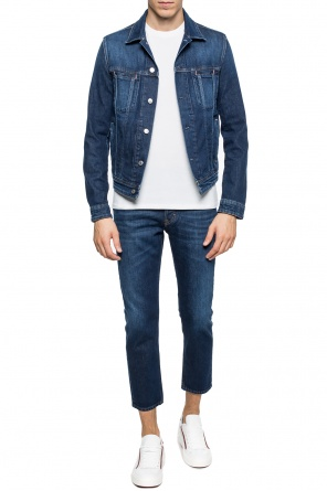 Stonewashed denim jacket od Acne