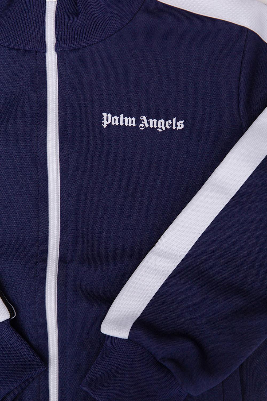 Palm Angels Kids Sweatshirt with mock neck