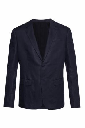 'peyton' blazer with notch lapels od AllSaints