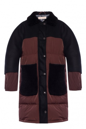 Quilted down jacket od Marni