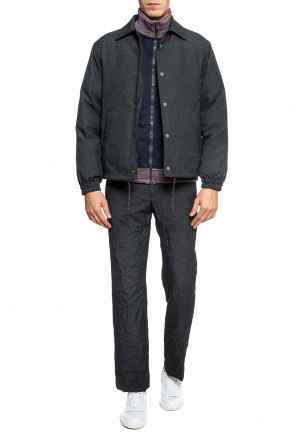 Patterned down jacket od Marni