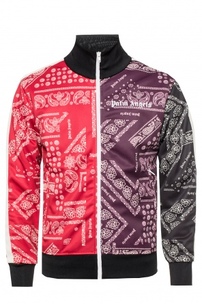 Paisley-printed bomber jacket od Palm Angels