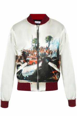Printed bomber jacket od Palm Angels