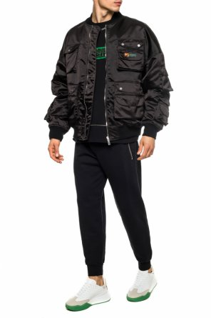 Bomber jacket with logo od Palm Angels