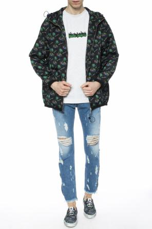 Patterned jacket od Palm Angels