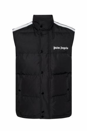Quilted down vest od Palm Angels