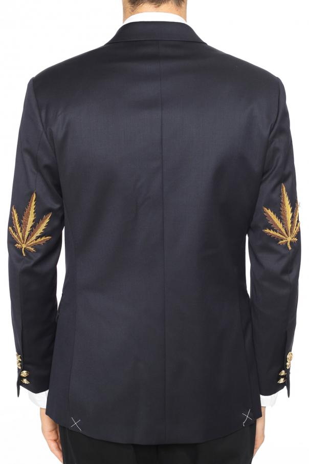 Double-breasted blazer od Palm Angels