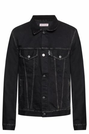 Branded denim jacket od Palm Angels