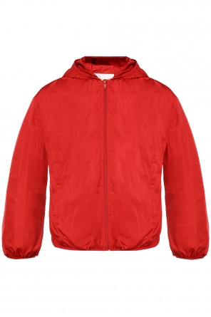Hooded jacket od Valentino Red
