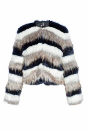 Cropped fur jacket od Paul Smith