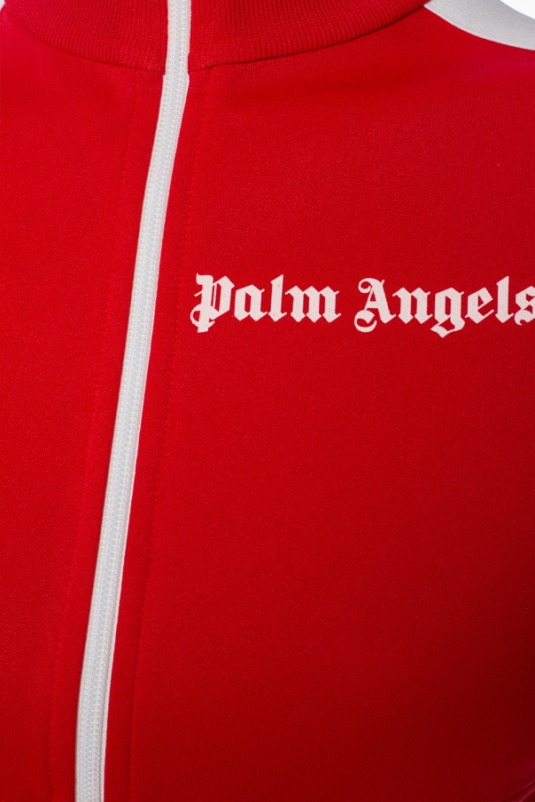 Band collar sweatshirt od Palm Angels