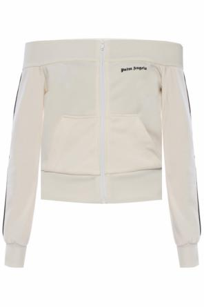 Open-shoulder sweatshirt od Palm Angels