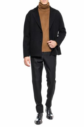 Jacket with notch lapels od Berluti