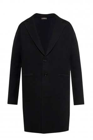 Coat with notch lapels od Berluti