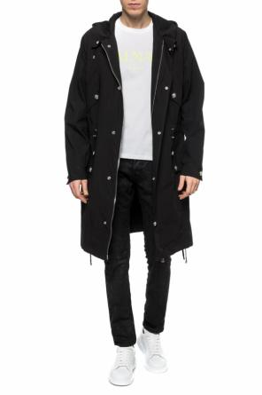 Hooded coat od Balmain
