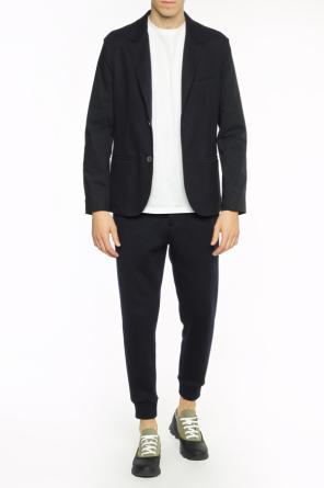 Blazer with notch lapels od Lanvin