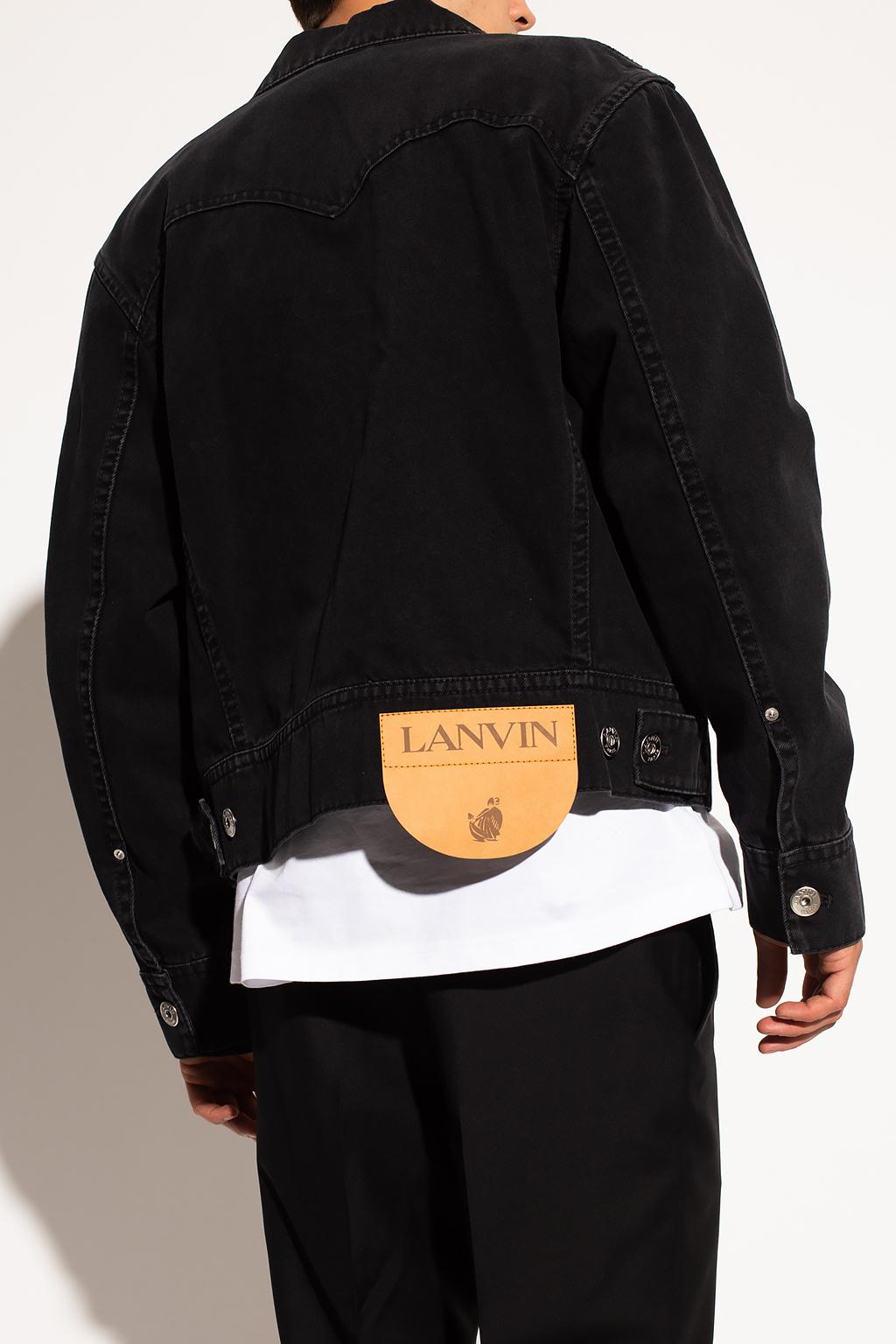 Lanvin Denim jacket with logo