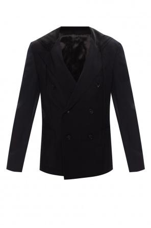 Hooded wool blazer od Lanvin