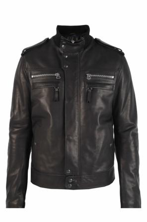 Leather jacket od Lanvin