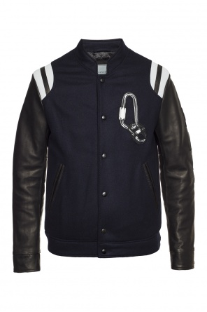 Patched bomber jacket od Lanvin