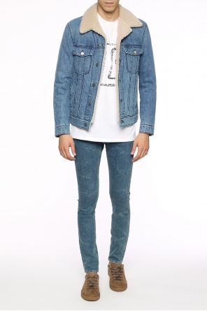 Padded denim jacket od Lanvin