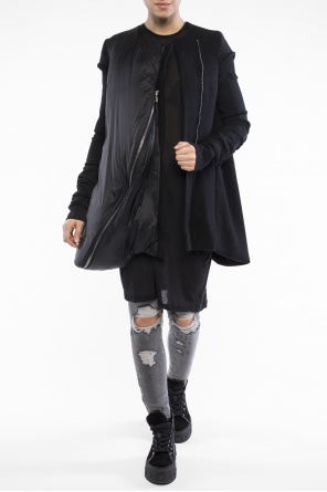 Cropped coat od Rick Owens