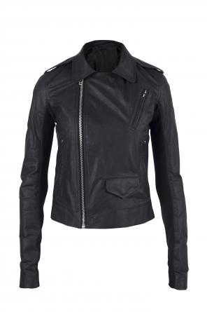 Leather biker jacket od Rick Owens