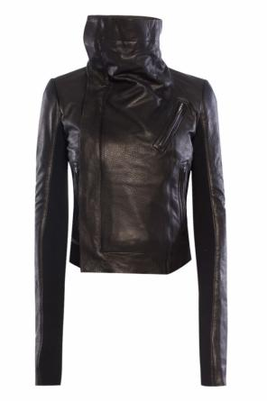 Leather jacket od Rick Owens